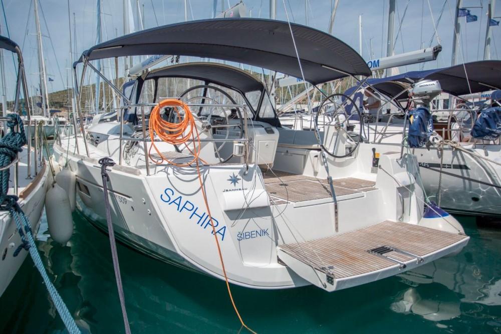 Jeanneau Sun Odyssey 509 - 5 + 1 cab. zwischen Privatpersonen und professionellem Anbieter Kroatien