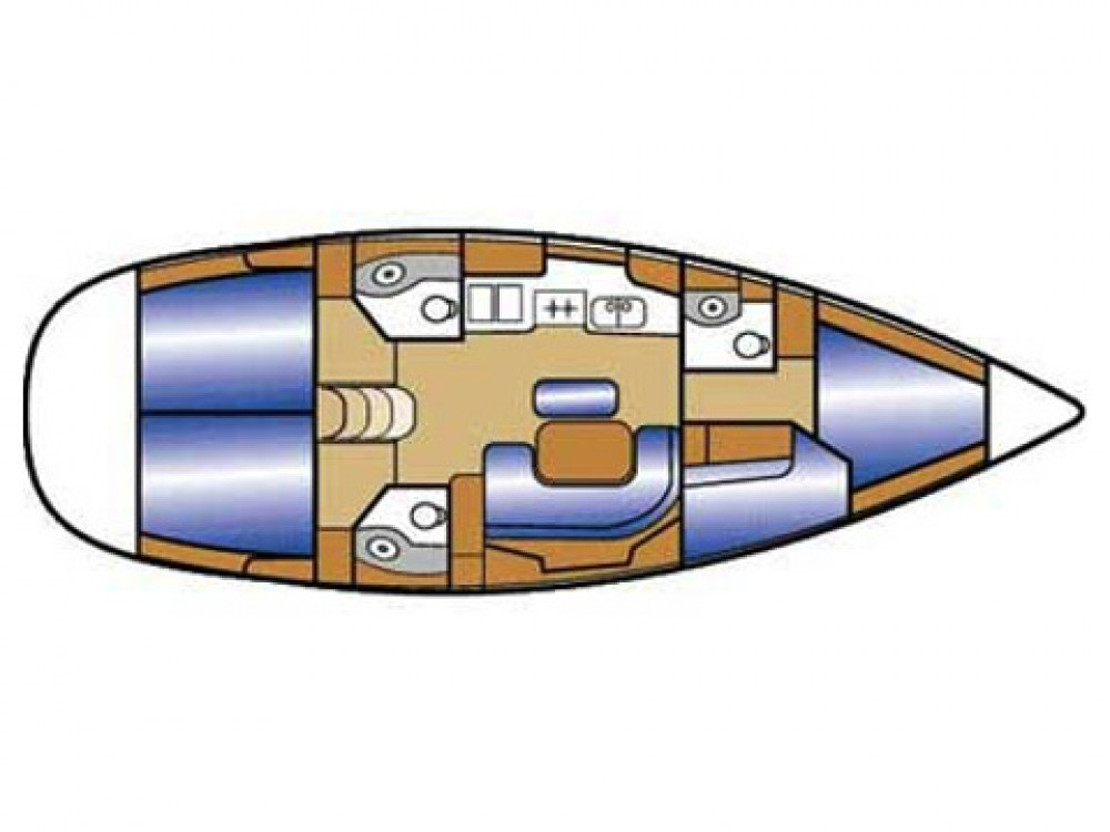 Bootsverleih Pirovac günstig Oceanis 423