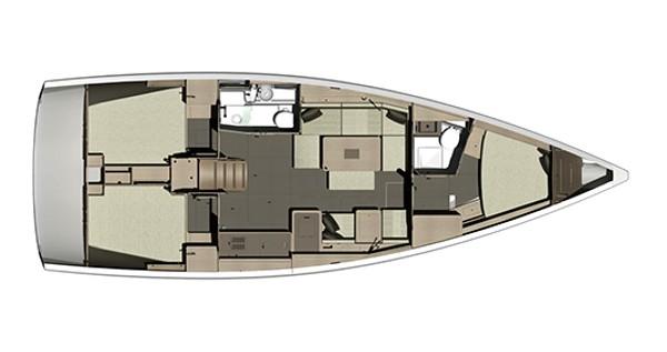 Segelboot mit oder ohne Skipper Dufour mieten in Sukošan