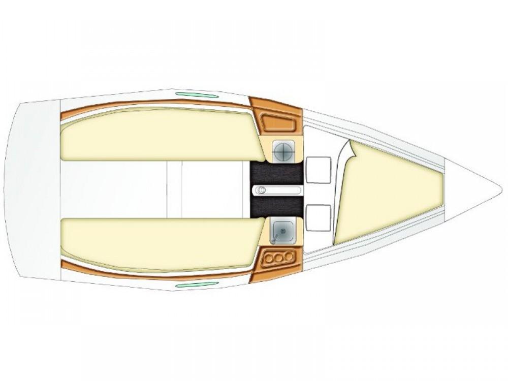 Segelboot mieten in Split - Bénéteau Beneteau First 21.7