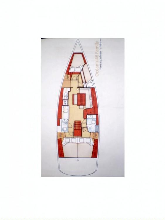 Bootsverleih Peloponnese günstig Oceanis 46 - 4 cab.
