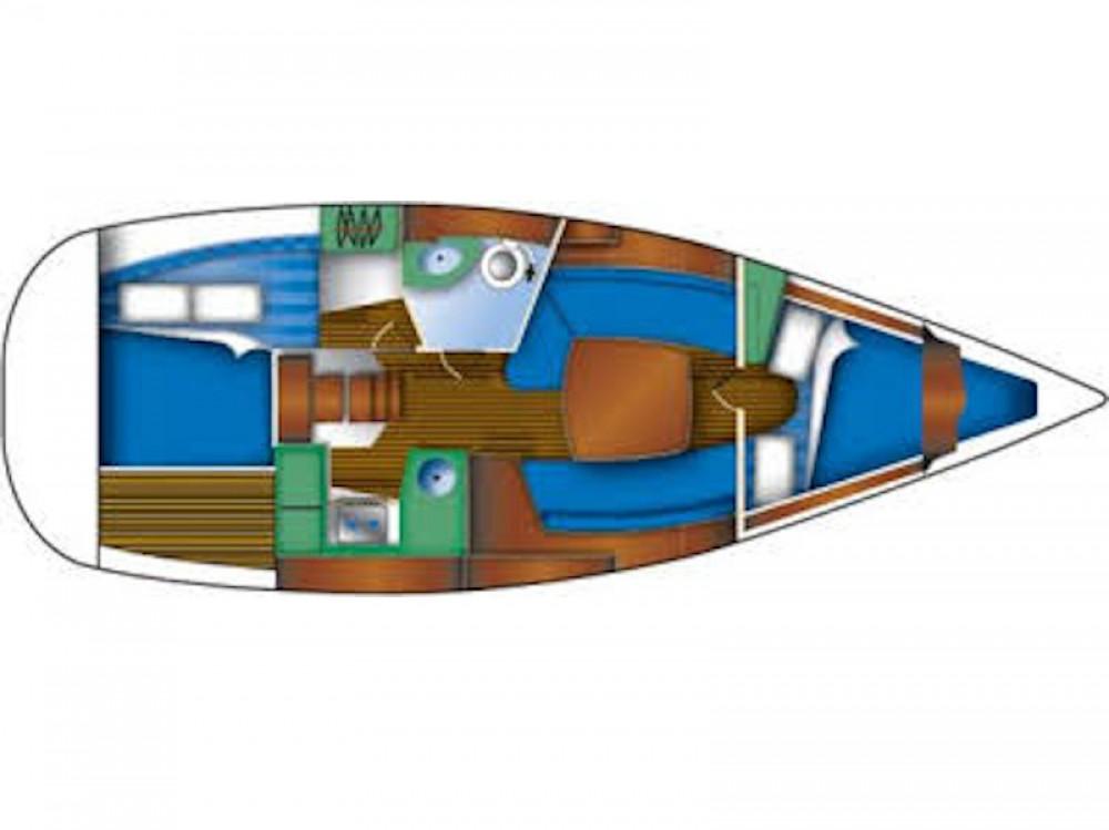 Jeanneau Sun Odyssey 32 zwischen Privatpersonen und professionellem Anbieter Murter