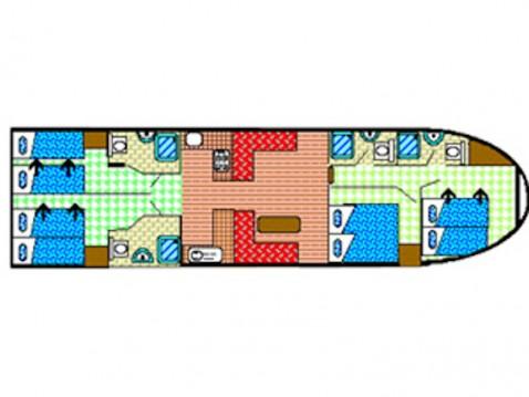 Motorboot mieten in Vermenton -  EuroClassic 149