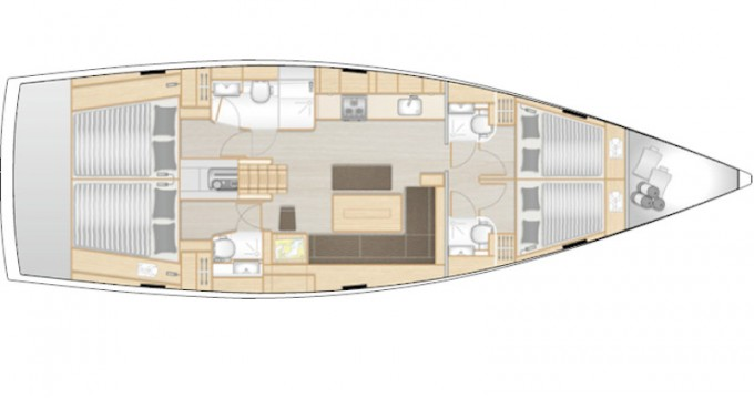 Yacht-Charter in Rogoznica - Hanse Hanse 508 auf SamBoat
