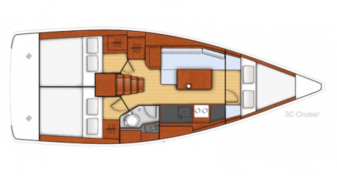 Bootsverleih Marmaris günstig Beneteau Oceanis 35