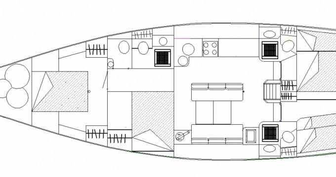 Segelboot mieten in Le Havre - Construction-A-Lunite  TX 57