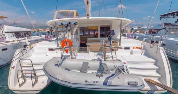 Ein Lagoon Lagoon 400 mieten in Split