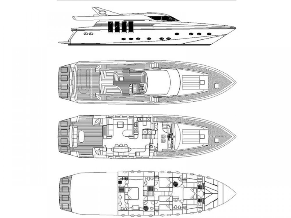 Bootsverleih  Posillipo Technema 82 Phuket Samboat
