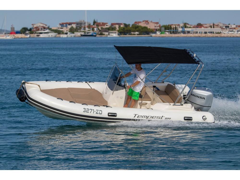 Motorboot mieten in Zadar - Cantiere TEMPEST 600 + Honda 115