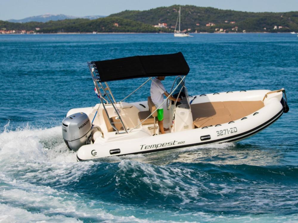 Bootsverleih Cantiere TEMPEST 600 + Honda 115 Zadar Samboat