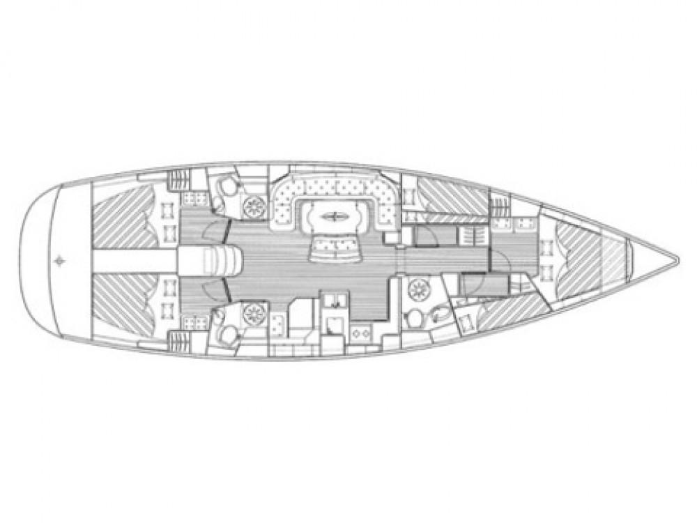 Bavaria Bavaria 51 Cruiser zwischen Privatpersonen und professionellem Anbieter Pomer