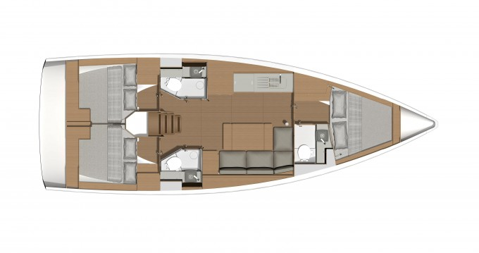 Segelboot mieten in Álimos - Dufour Dufour 390 Grand Large