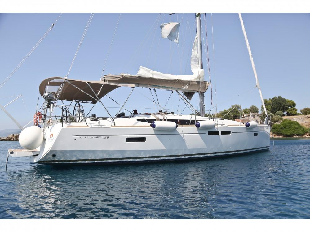 Segelboot mieten in Volos - Jeanneau Sun Odyssey 469