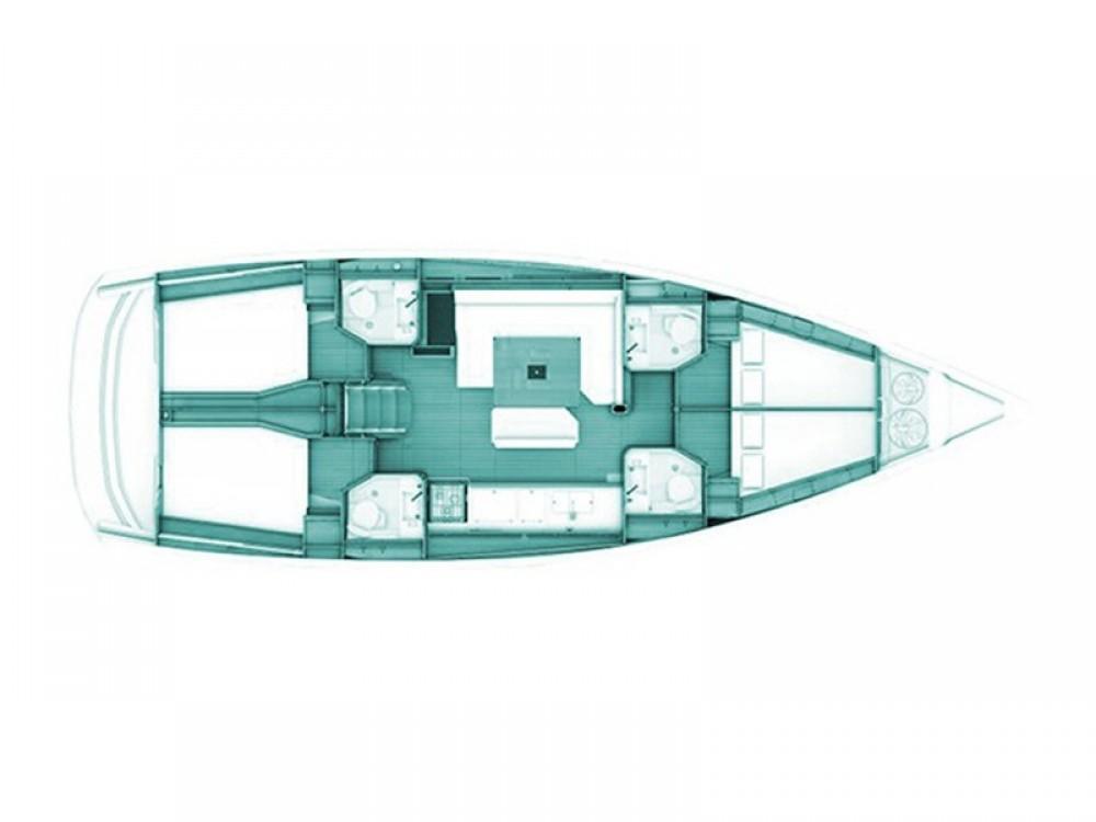 Segelboot mit oder ohne Skipper Jeanneau mieten in Volos