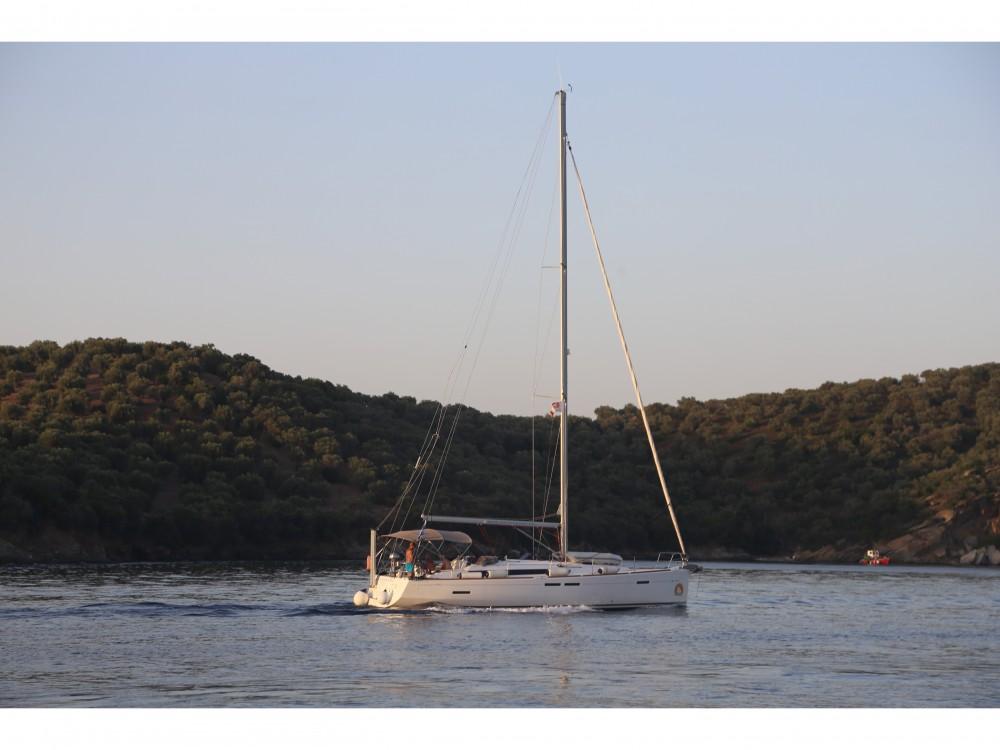 Bootsverleih Skópelos günstig Sun Odyssey 439