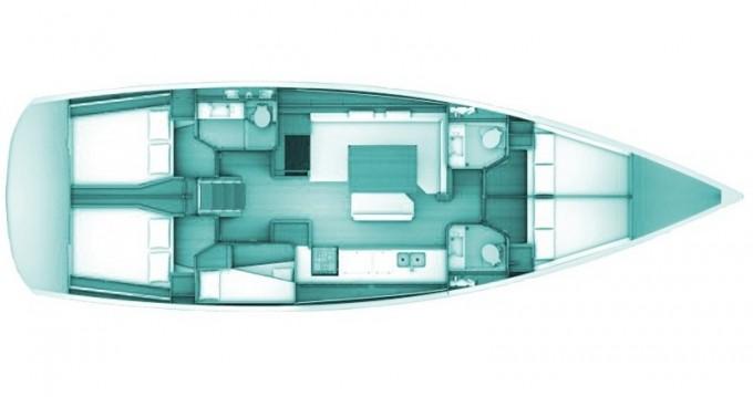 Segelboot mieten in Volos - Jeanneau Sun Odyssey 509