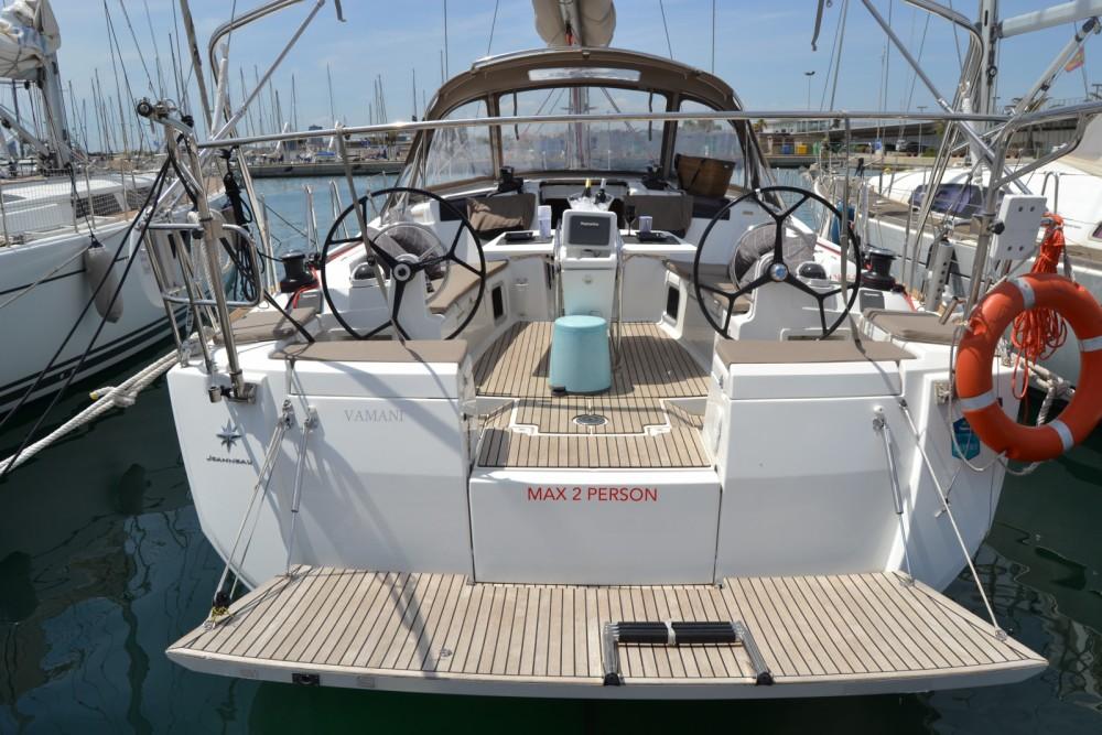 Bootsverleih Valencia günstig SUN ODYSEEY 449