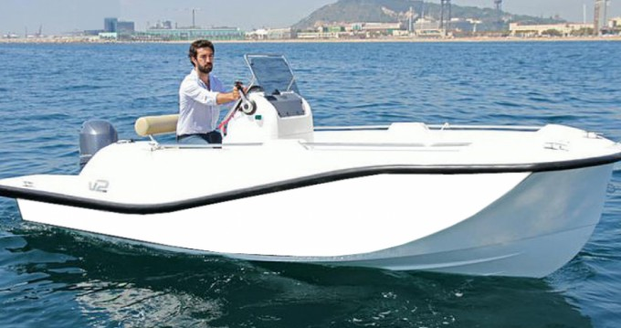 Ein V2-Boat 5.0 mieten in Formentera
