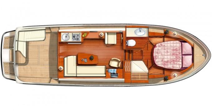 Yacht-Charter in Werder (Havel) - Linssen Linssen GS 34.9 Sedan auf SamBoat
