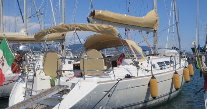 Bootsverleih Castiglioncello günstig Sun Odyssey 45