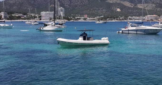 Schlauchboot mieten in Palma de Mallorca - Scanner 870D