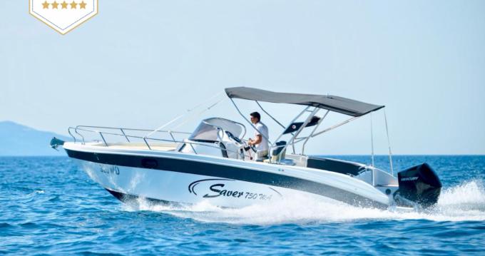 Motorboot mieten in Opatija - SAVER 750 WA Saver 750 Cabin  WA