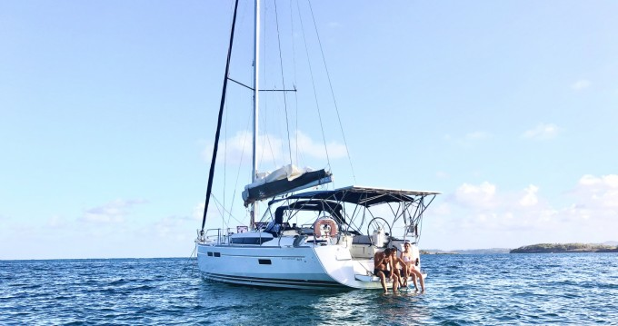 Ein Jeanneau Sun Odyssey 469 mieten in Le Marin