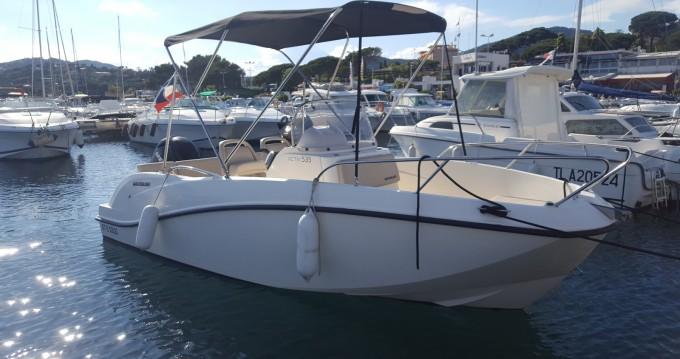 Motorboot mit oder ohne Skipper Quicksilver mieten in Sainte-Maxime