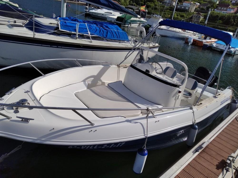 Motorboot mieten in Vilaboa - Quicksilver Quicksilver 630 Open