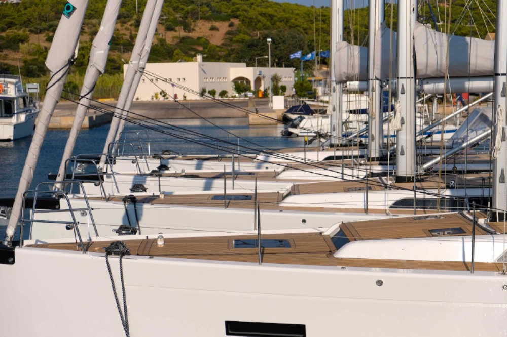 Ein X-Yachts X4-6 model 2019 mieten in Lávrio