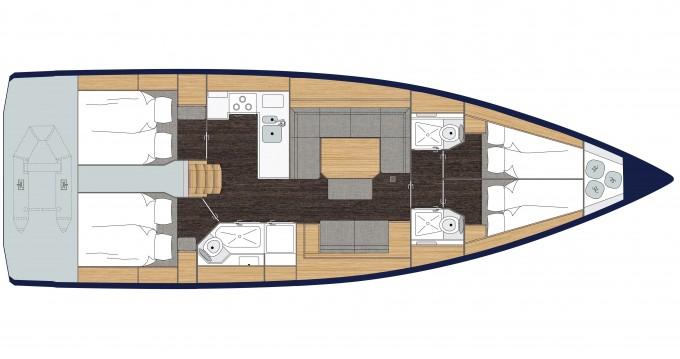 Segelboot mieten in Sámi zum besten Preis