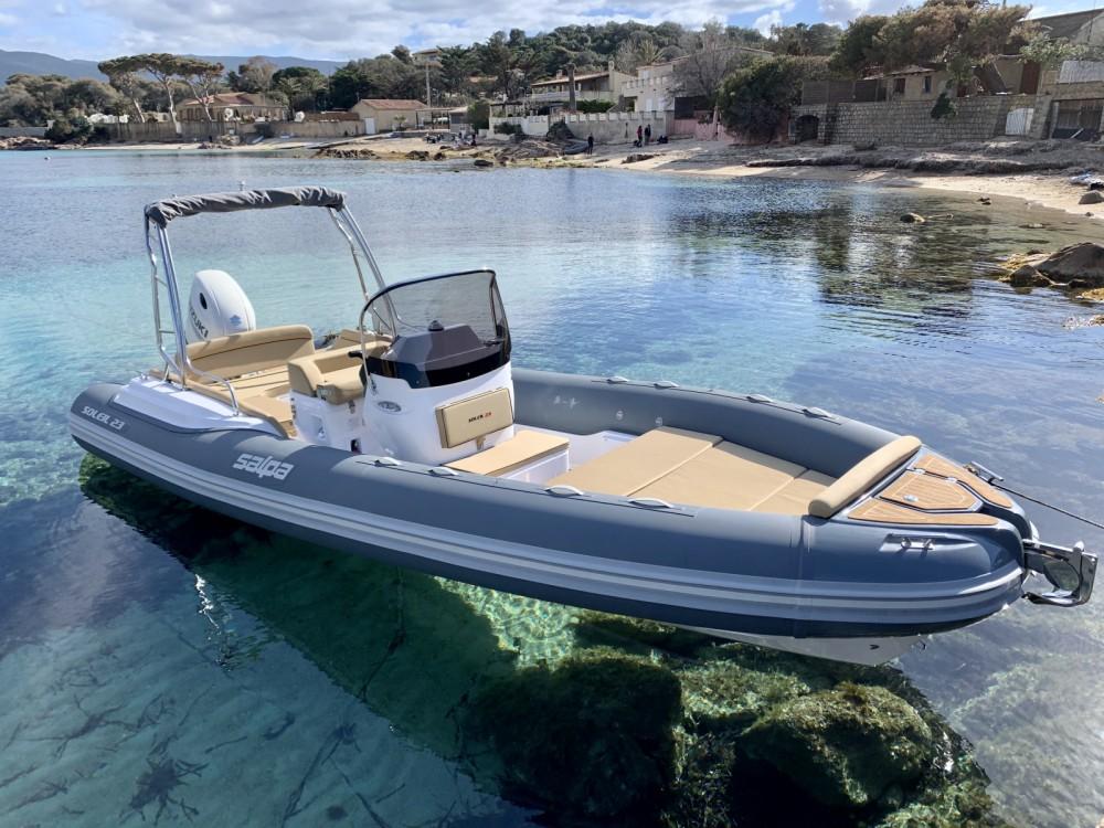 Vermietung Schlauchboot Salpa mit Führerschein