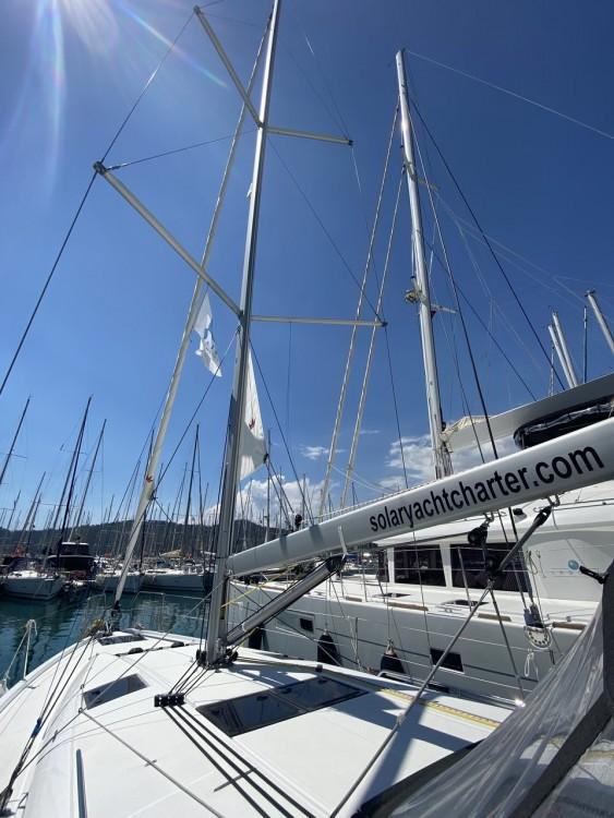 Jeanneau Sun Odyssey 440 zwischen Privatpersonen und professionellem Anbieter Fethiye