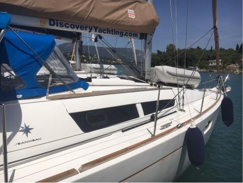 Bootsverleih Jeanneau Sun Odyssey 36i Gouviá Samboat