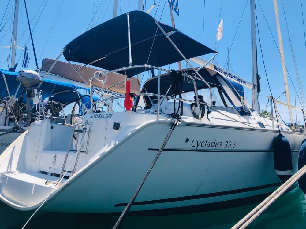 Segelboot mieten in Kontokali - Bénéteau Cyclades 39.3