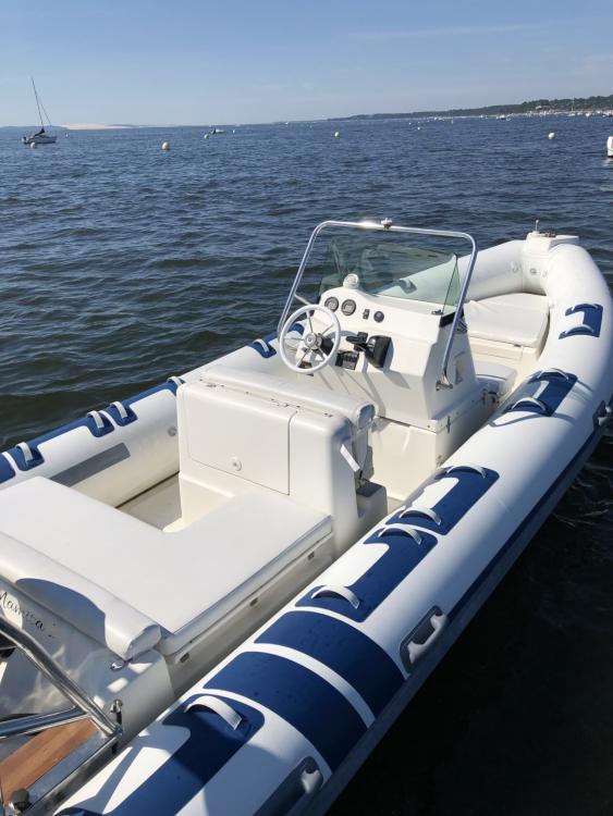 Vermietung Motorboot Northstar mit Führerschein