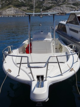 Bootsverleih Marseille günstig WHITE SHARK 225