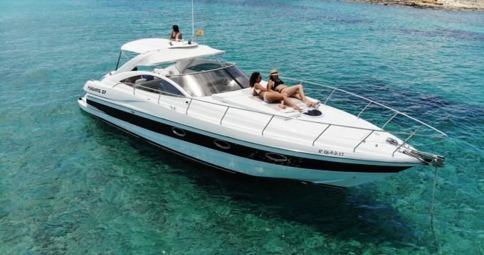 Vermietung Motorboot Pershing mit Führerschein