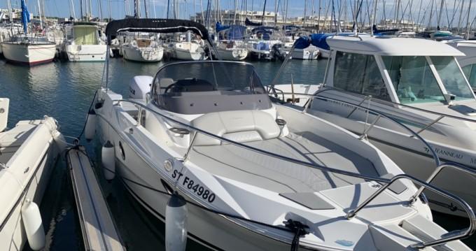 Motorboot mieten in Port-Camargue - Karnic SL 702