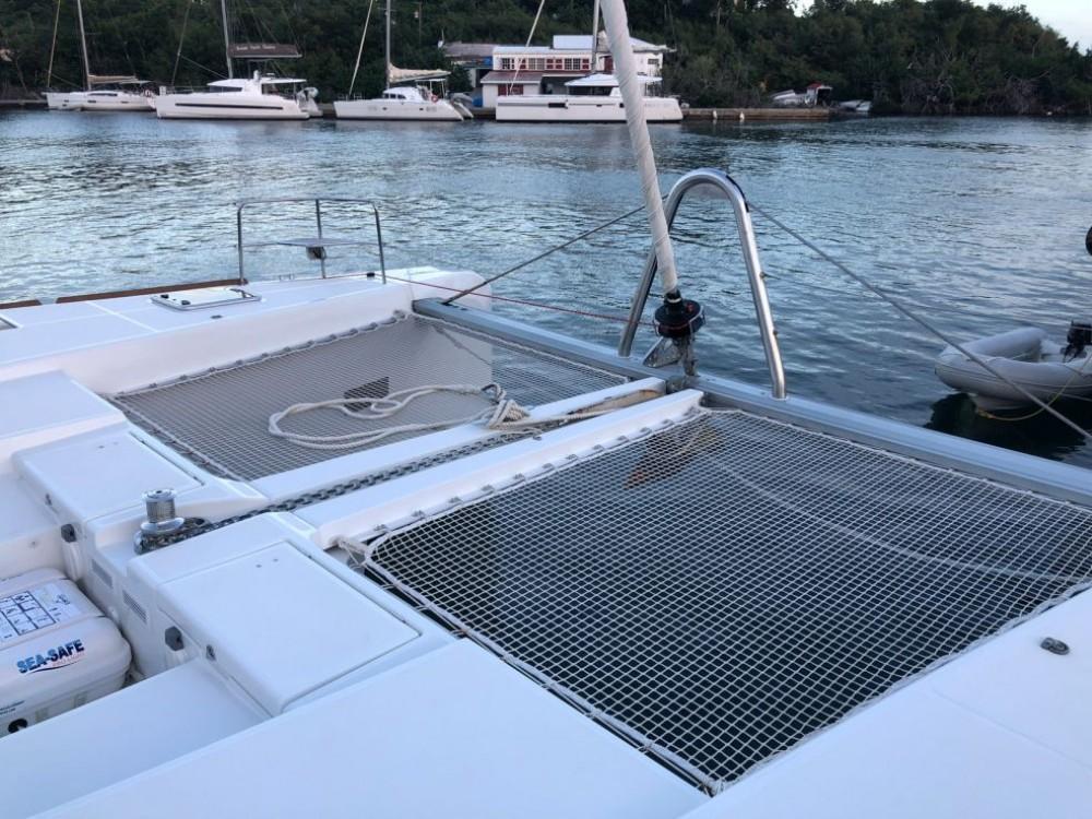 Lagoon Lagoon 52 zwischen Privatpersonen und professionellem Anbieter Martinique
