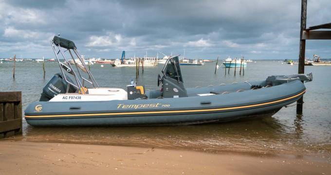 Yacht-Charter in Arcachon - Capelli Tempest 700 série limité Luxe auf SamBoat