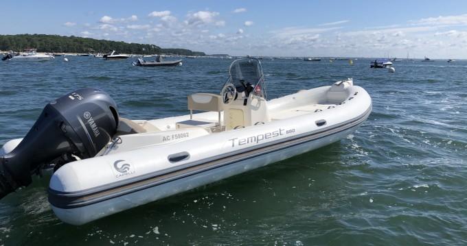 Bootsverleih Capelli Tempest 650 Grand Piquey Samboat