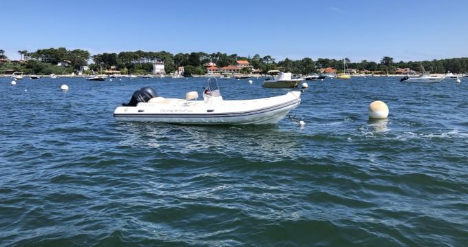 Schlauchboot mieten in Grand Piquey - Capelli Tempest 650