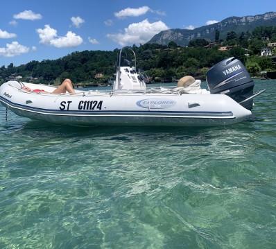 Schlauchboot mit oder ohne Skipper Bombard mieten in Aix-les-Bains