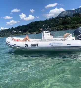 Bombard Explorer 530 zwischen Privatpersonen und professionellem Anbieter Aix-les-Bains