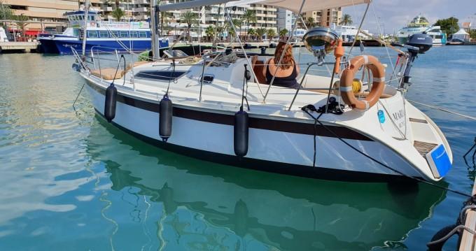 Bootsverleih Jeanneau Sun Odyssey 28.1 Ibiza Town Samboat