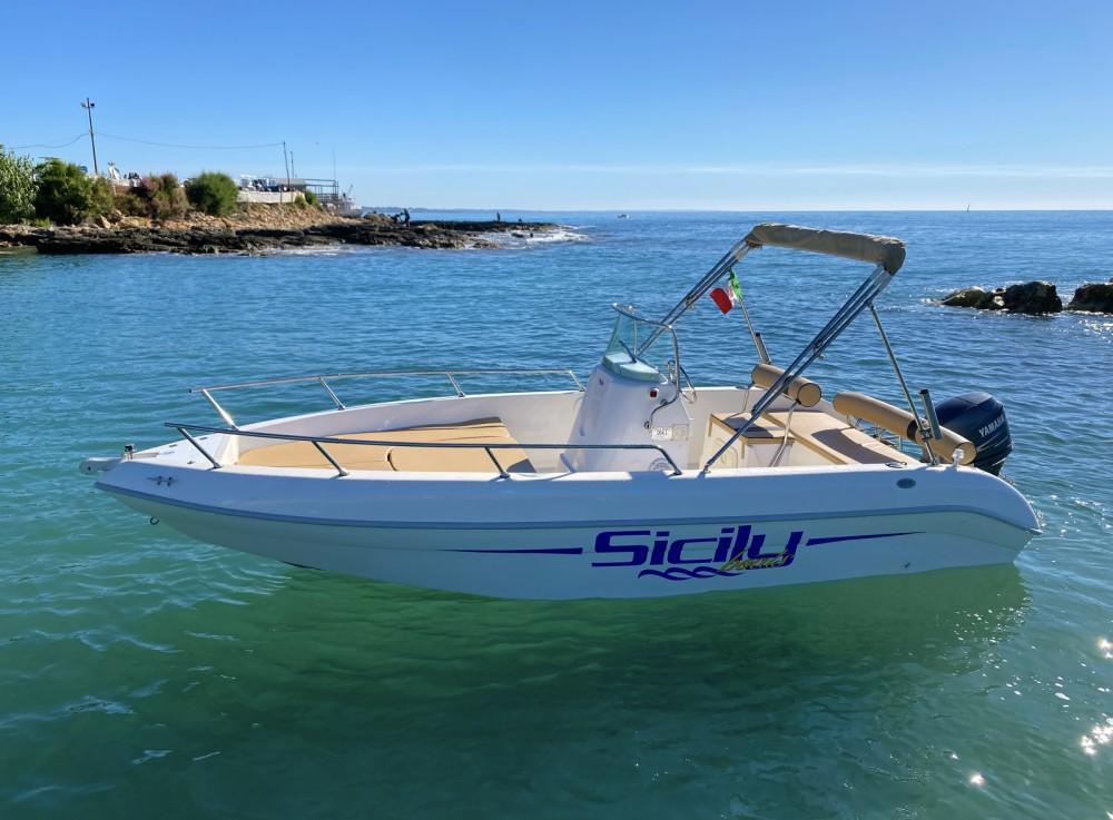 Motorboot mit oder ohne Skipper Aquamar mieten in Avola