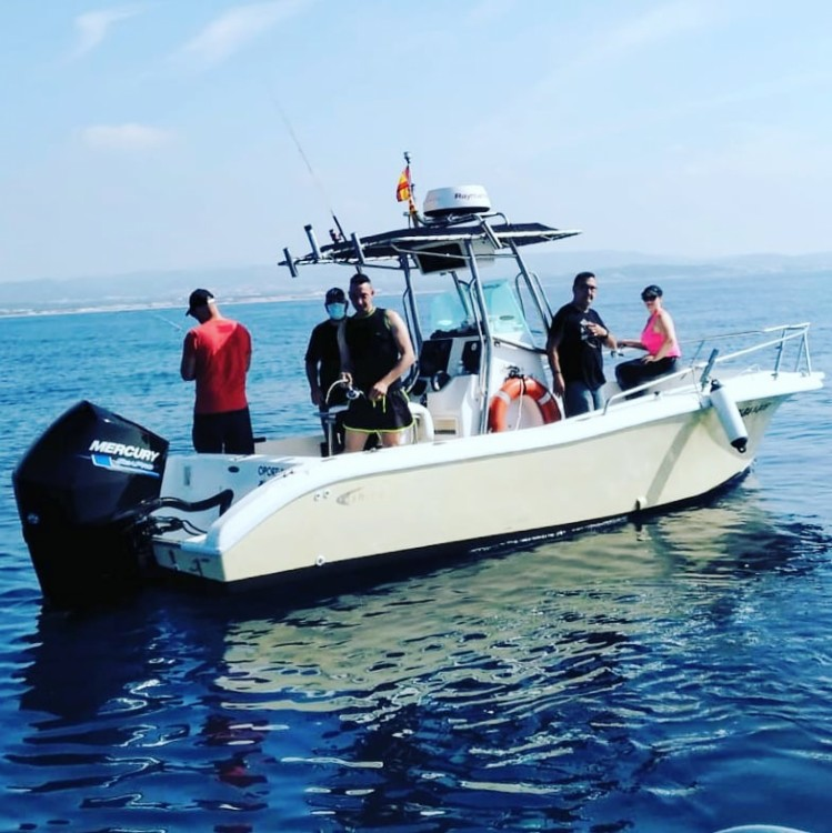 Bootsverleih Fishing Raptor 240 el Vendrell Samboat