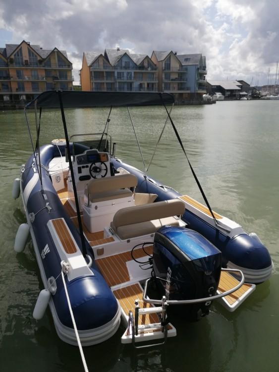 Schlauchboot mit oder ohne Skipper Tiger mieten in Deauville