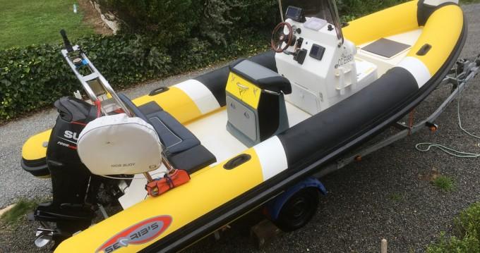 Bootsverleih Searib's 580 open Moëlan-sur-Mer Samboat